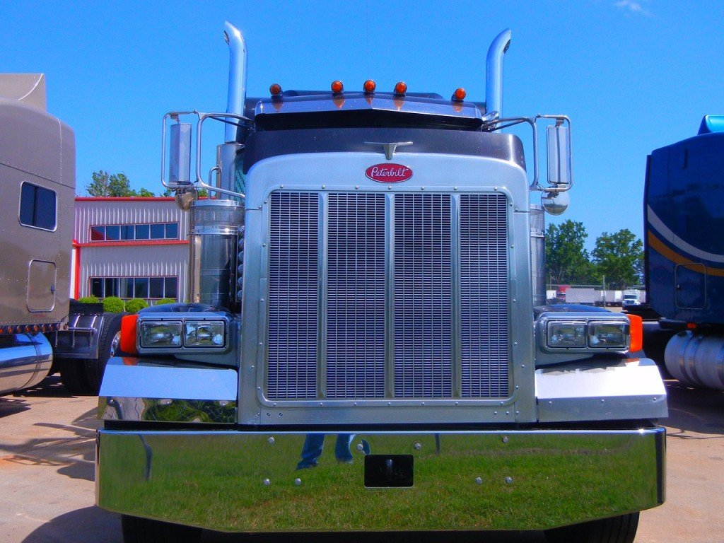 eighteen-wheeler