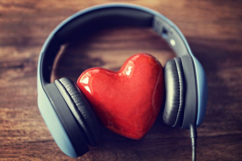 Headphones-and-heart