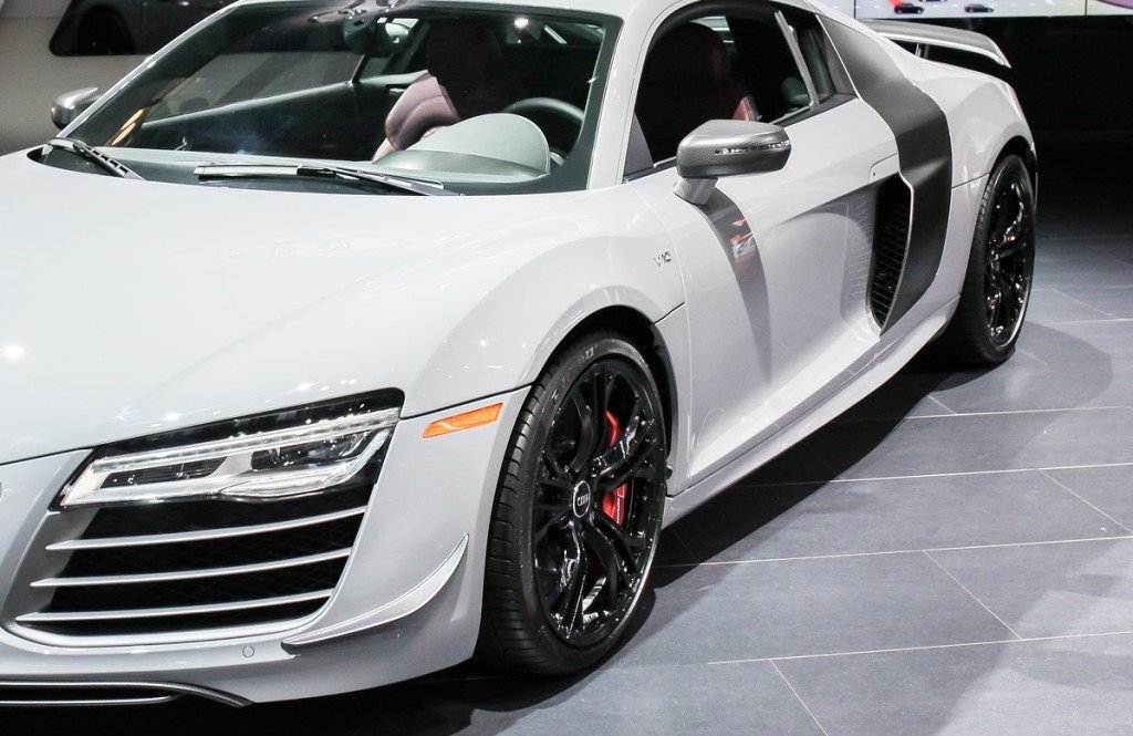auto body work - Audi at car show